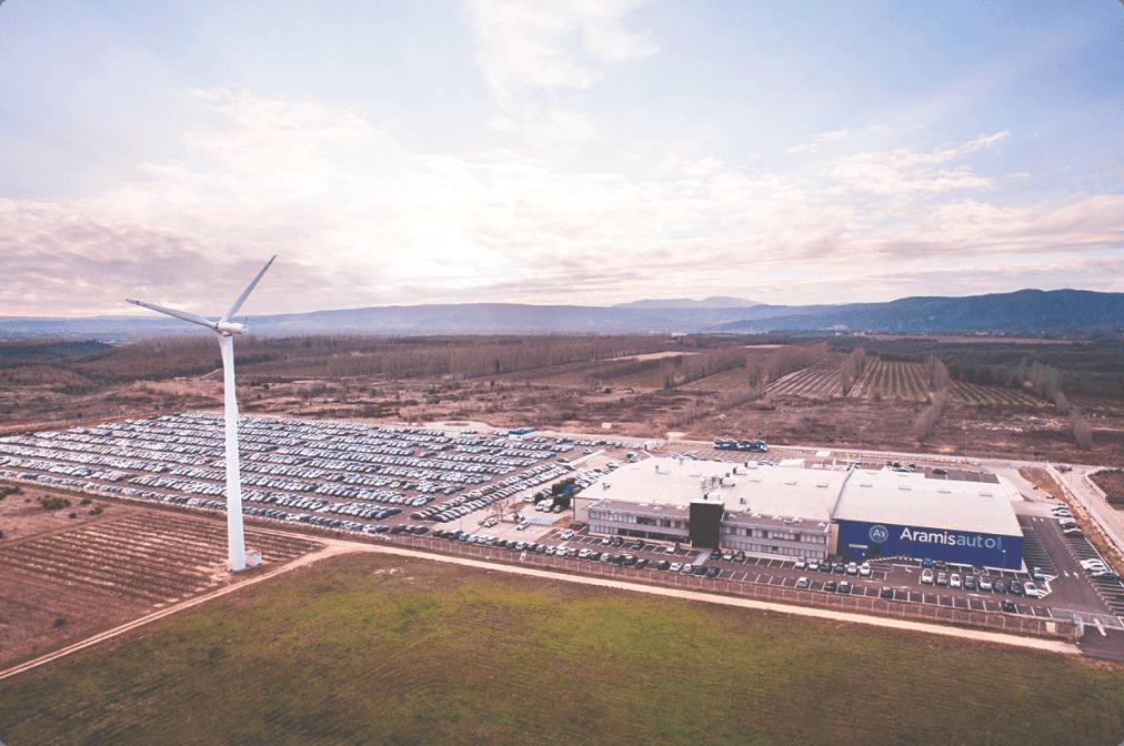 Mobilité responsable : notre usine de reconditionnement auto à Donzère.