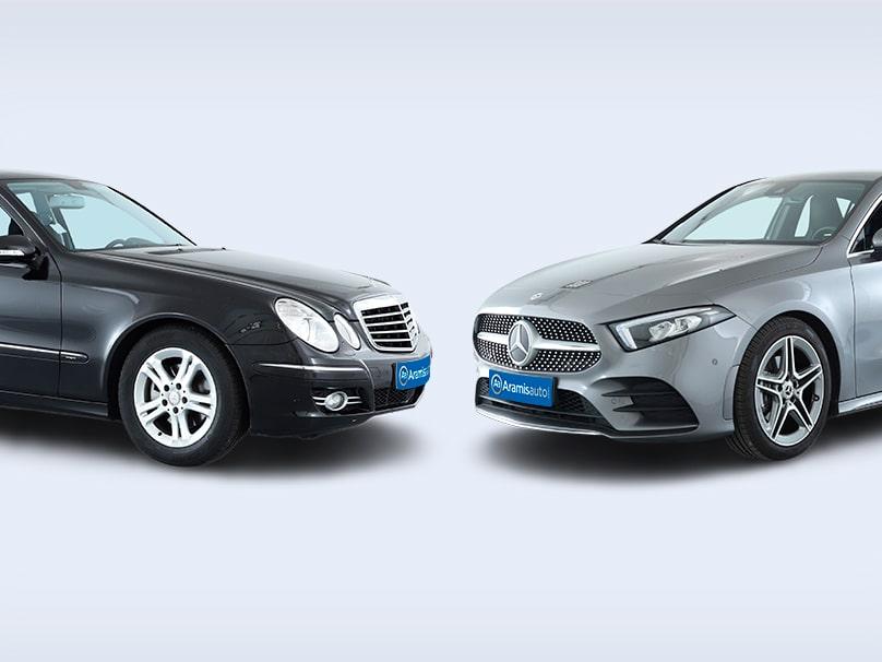 Deux des Mercedes parmi les plus fiable de la marque.